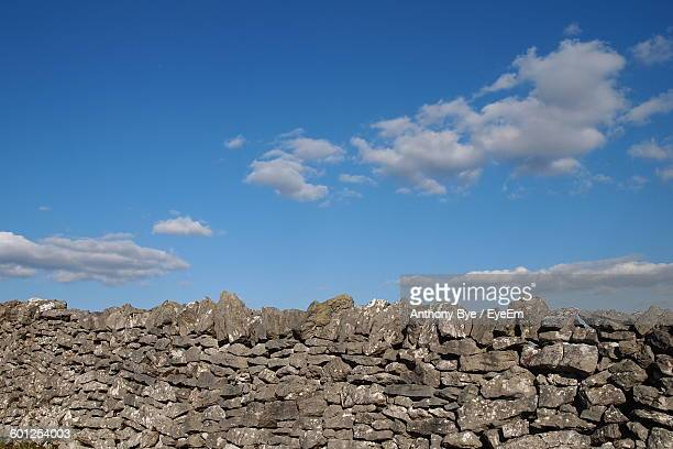 Stone Wall Against Sky