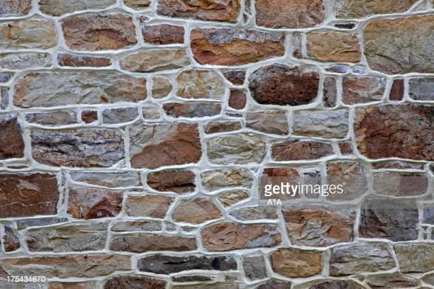 Stone Wall Background Detail