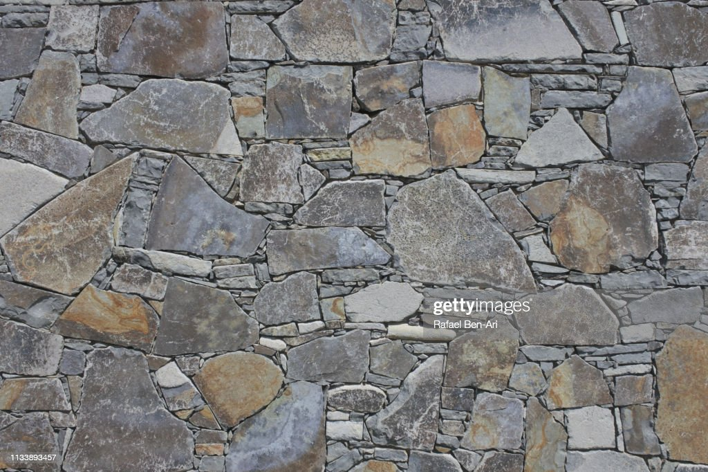 Stone wall background : Stock Photo