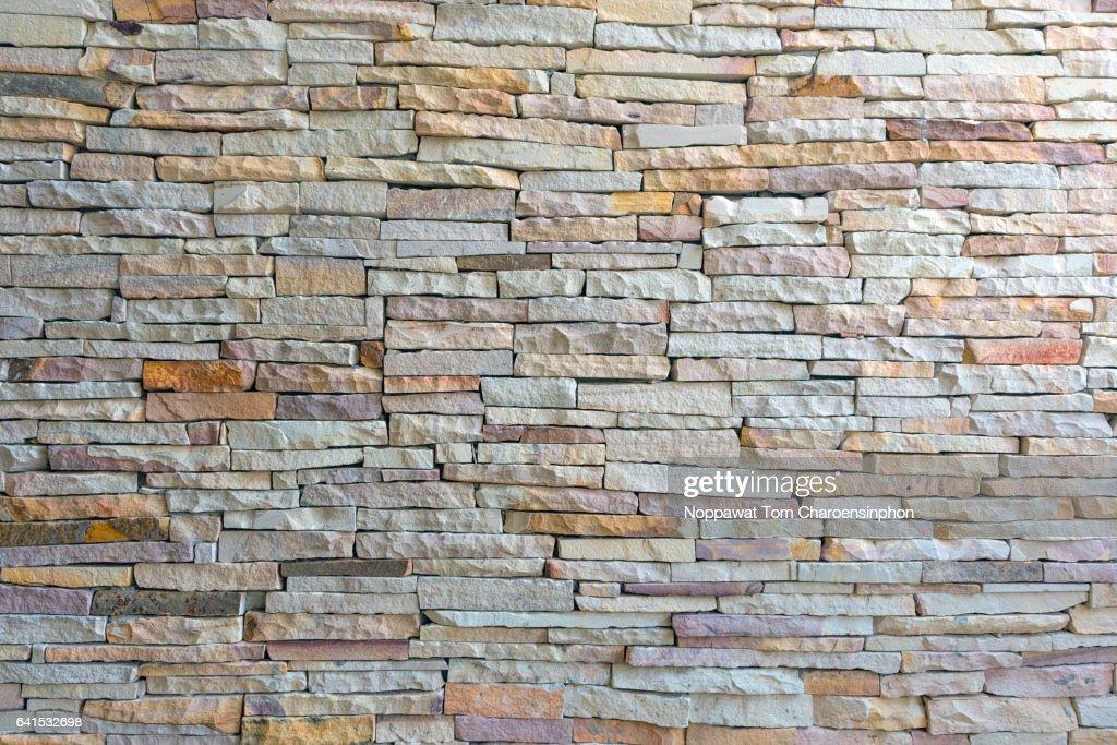 Stone Wall, Bangkok, Thailand : Stock-Foto