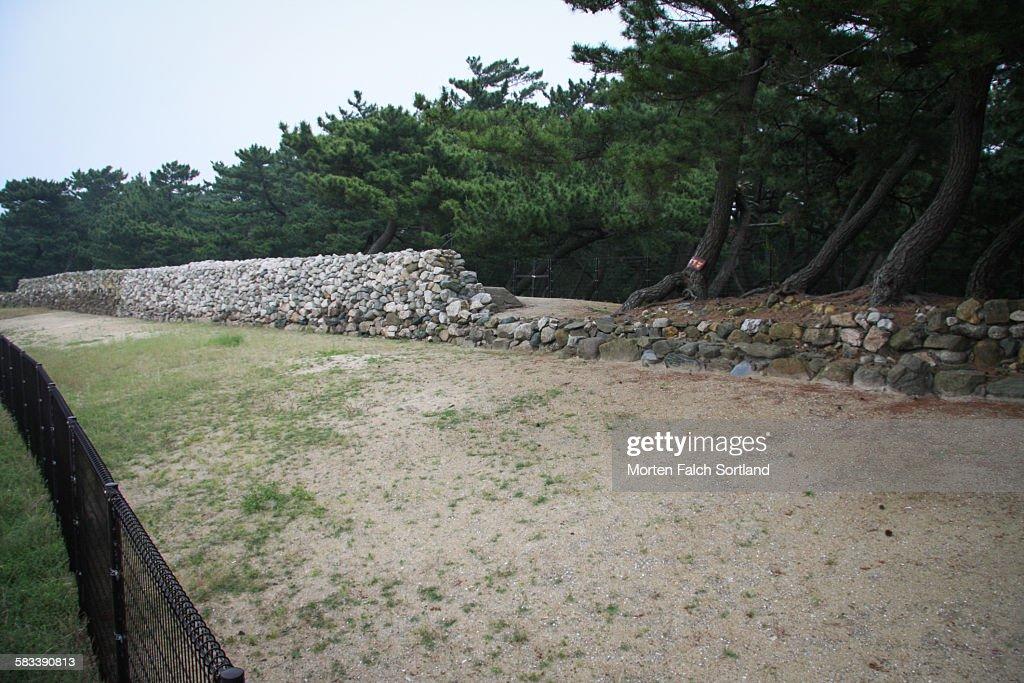 "Stone wall ""Genko Borui"" : Stock Photo"