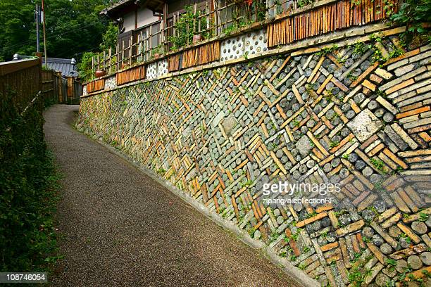 Stone Wall of House