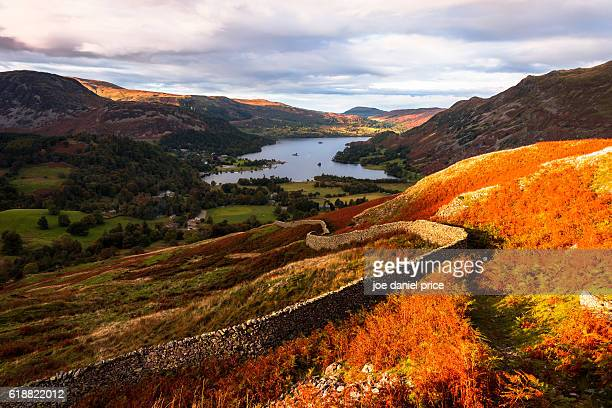 Stone Wall, Patterdale, Ullswater, Glenridding, Lake District, Cumbria, England