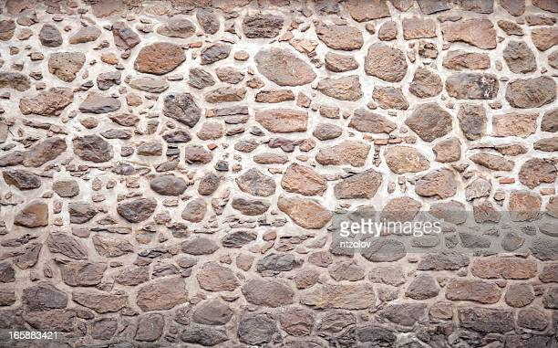 stone wall - castle wall stock pictures, royalty-free photos & images