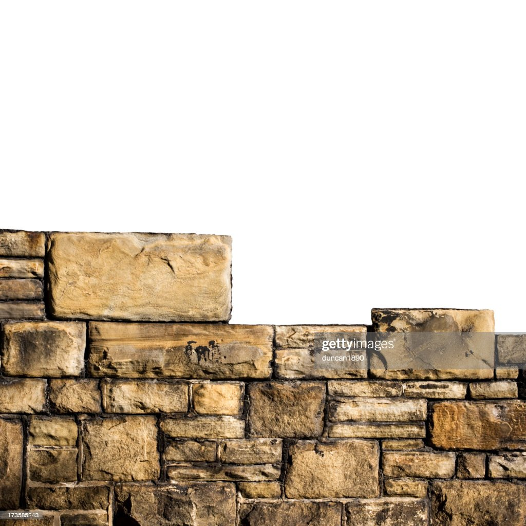 Muro de Pedra : Foto de stock