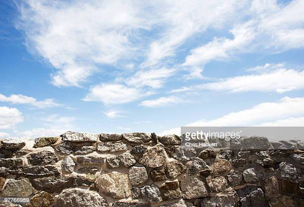 stone wall - hackett stock photos and pictures