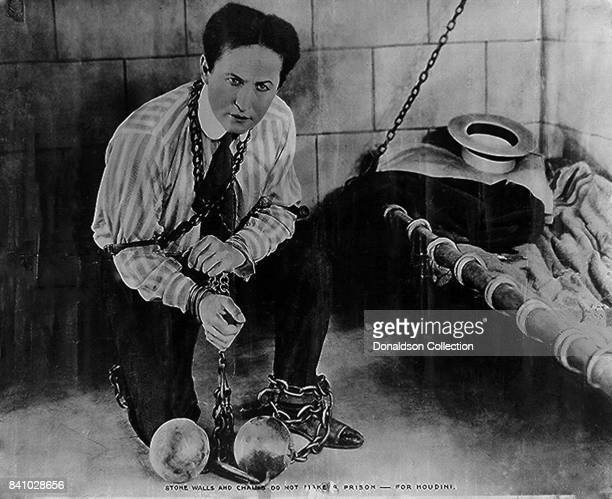 Stone walls and chains do not make a prison for Houdini in 1898