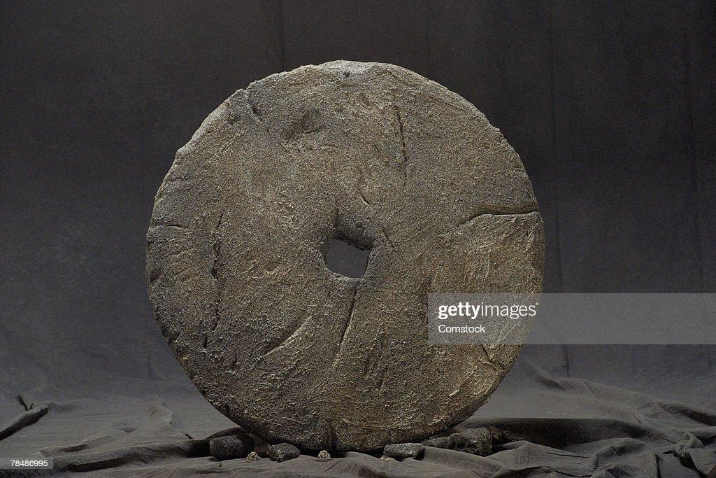 Stone wheel : Stock-Foto