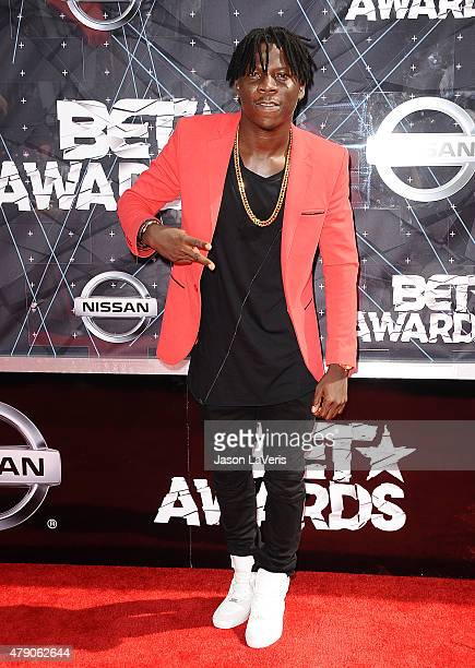 Stonebwoy attends the 2015 BET Awards at the Microsoft Theater on June 28 2015 in Los Angeles California