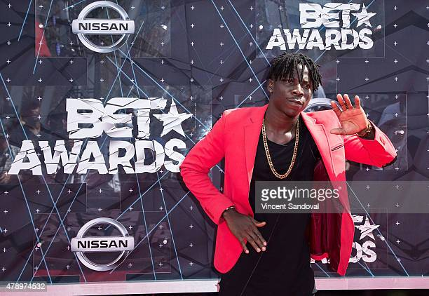 Stonebwoy attends the 2015 BET Awards on June 28 2015 in Los Angeles California