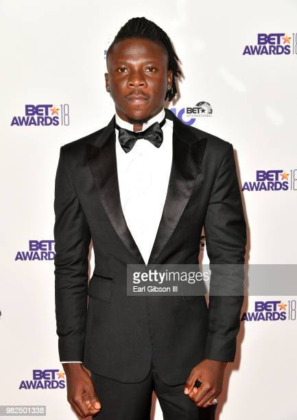 Stonebwoy attends the BETX International Nominee Party during the 2018 BET Experience at Hotel Indigo Los Angeles Downtown on June 23 2018 in Los...