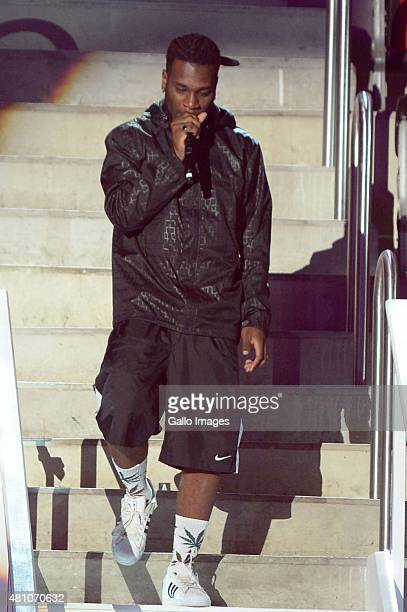 Stonebwoy during rehearsals ahead of the MTV Africa Music Awards on July 18 2015 at the Durban International Convention Centre in Durban South Africa...