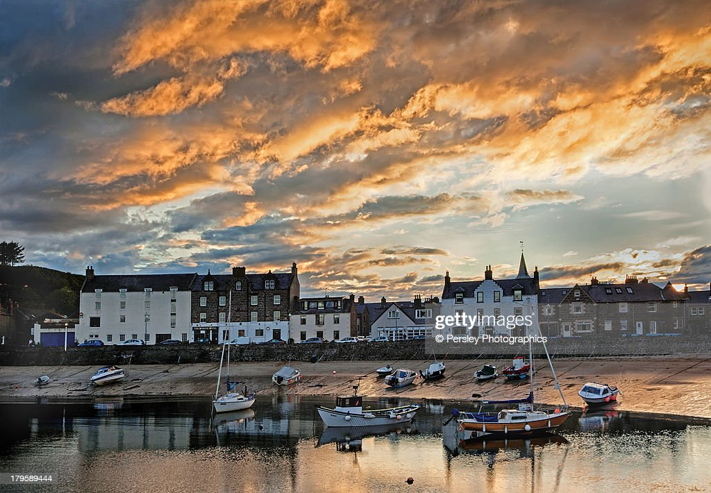 Stonehaven Harbour : Stock-Foto