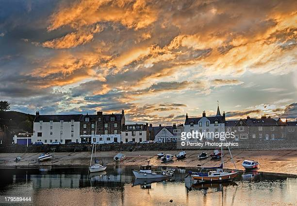 stonehaven harbour - grampian scotland stock pictures, royalty-free photos & images