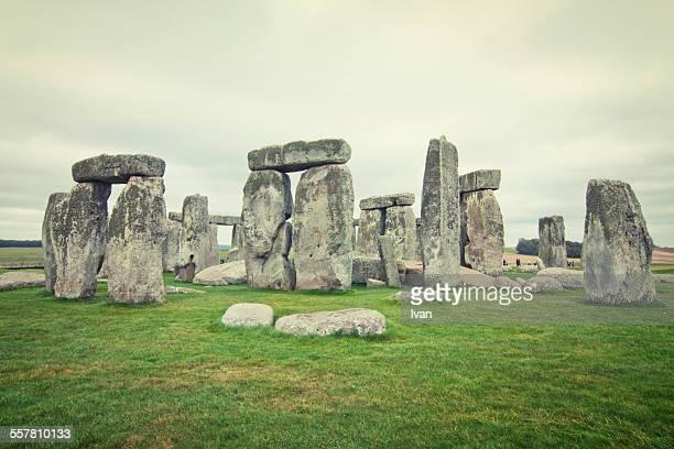 Stonehenge in film style