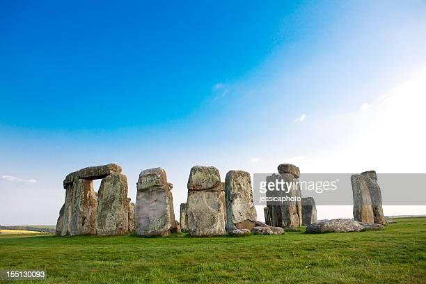 Stonehenge in the Spring