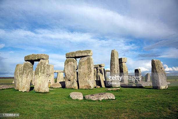stonehenge, salisbury plain, wiltshire, england - stonehenge stock photos and pictures
