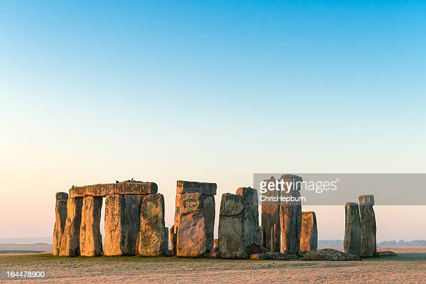 stonehenge, salisbury plain, wiltshire - stonehenge stock photos and pictures