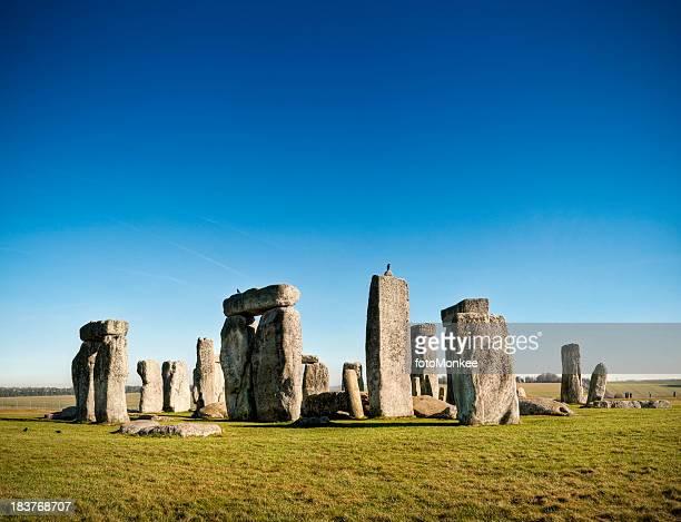 stonehenge, salisbury plain, wiltshire, uk - stonehenge stock photos and pictures