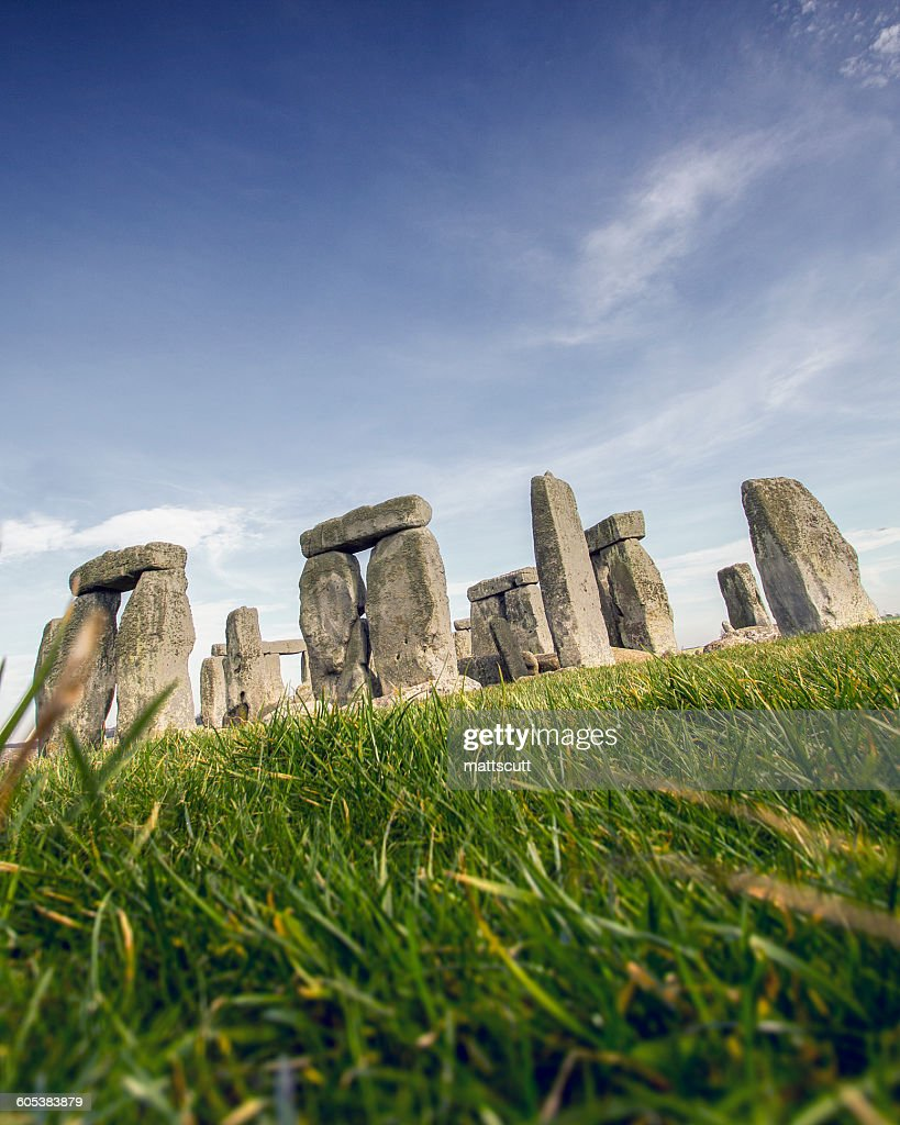 Stonehenge, Wiltshire, England, UK : Stock Photo