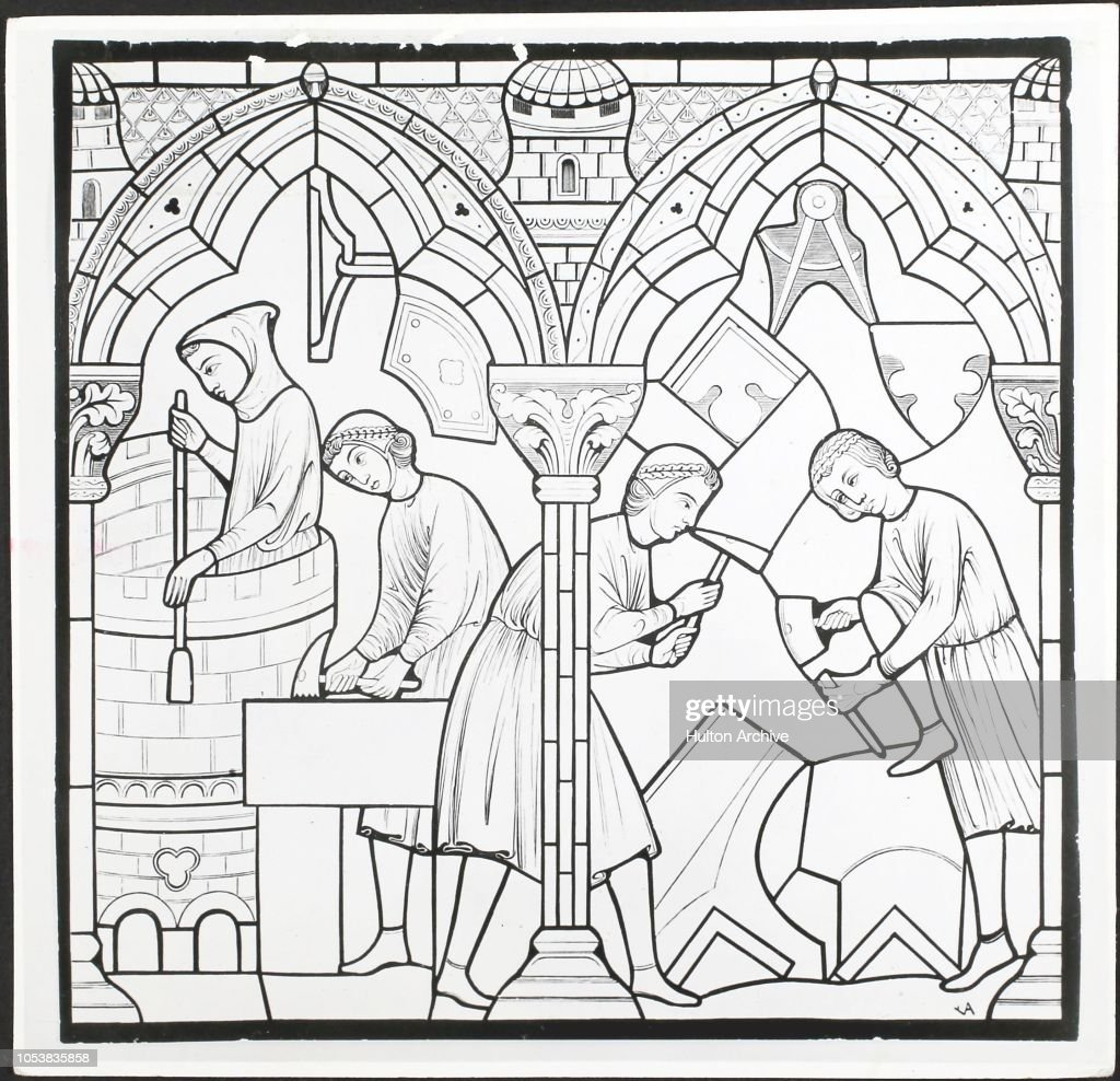 notre dame de chartres stock photos and pictures getty images Salisbury Cathedral stonemasons from 13th cent window in notre dame de chartres chartres