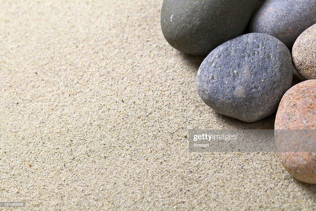 Stones Background : Stock Photo