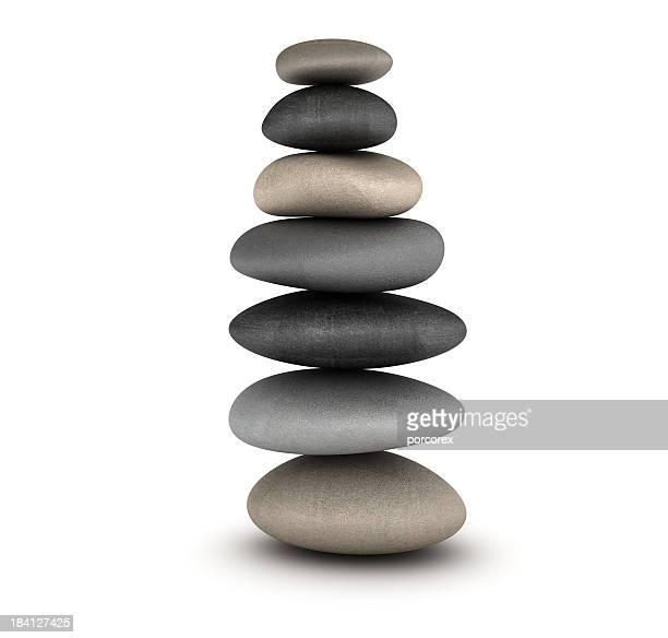Steine Gleichgewicht