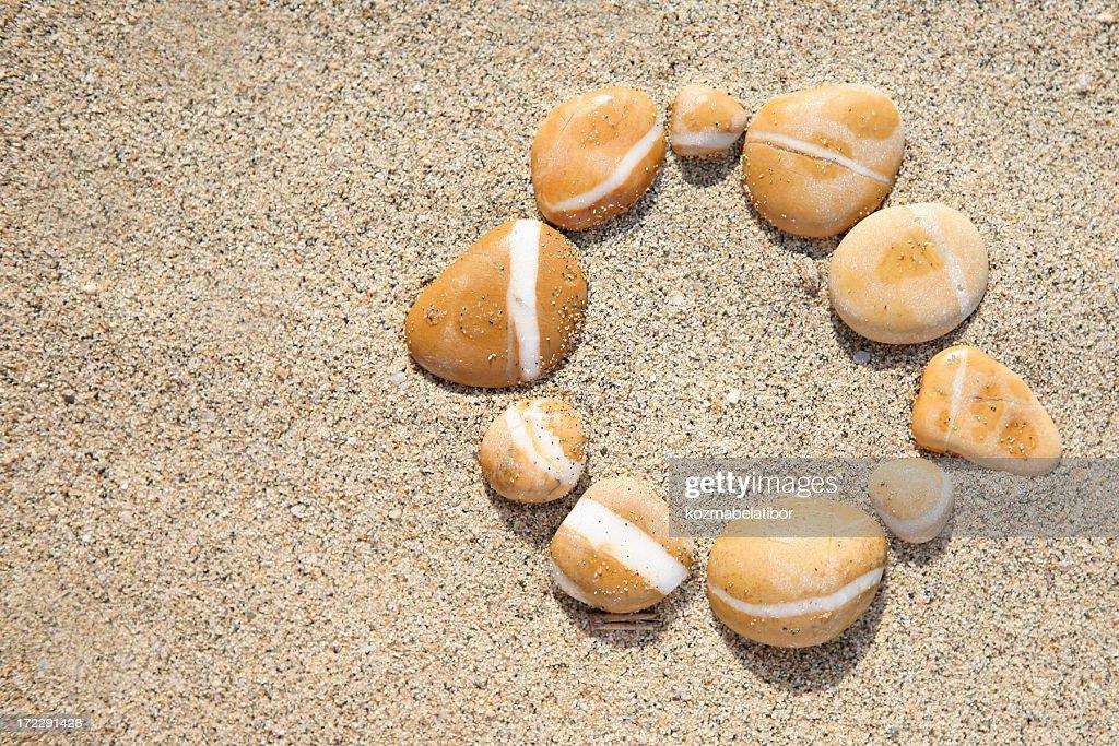 Steine im Kreis : Stock-Foto