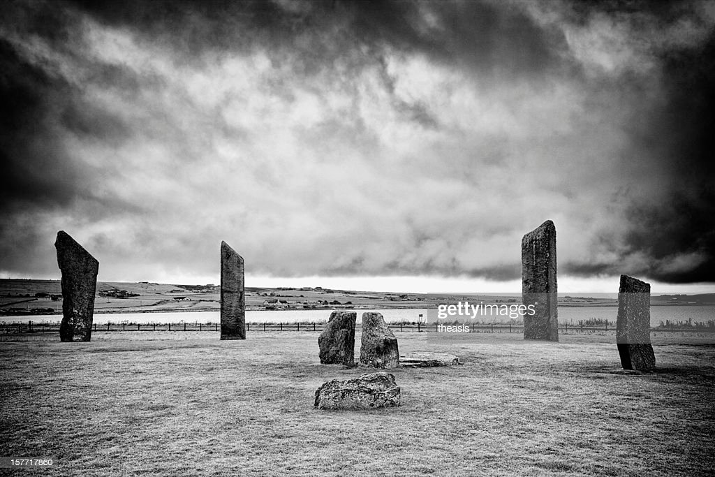 Stones Of Stenness, Orkney : Stock Photo