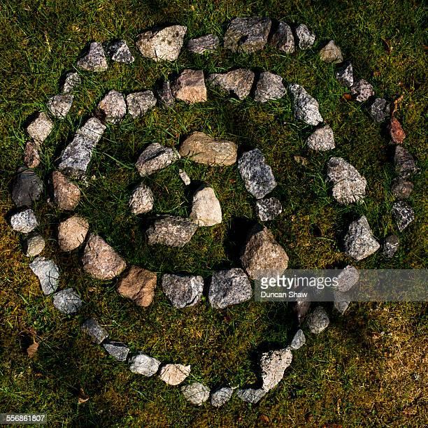 Stones spiral