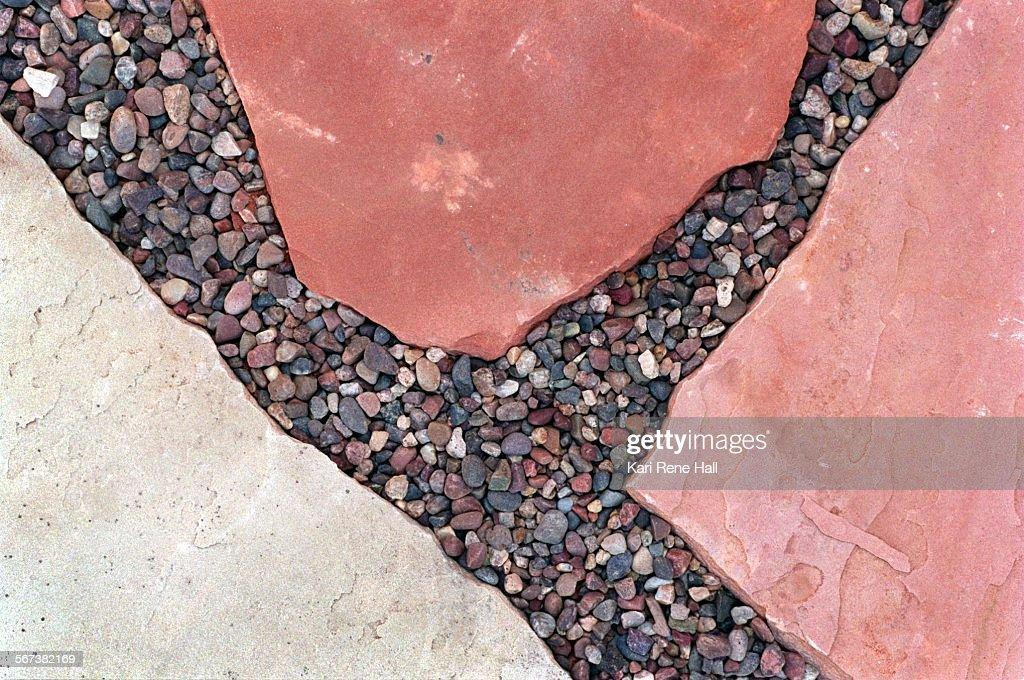 LS.Stones.flagstone1.KH.8/22/96.Arizona flagstone in Sedona red (top ...