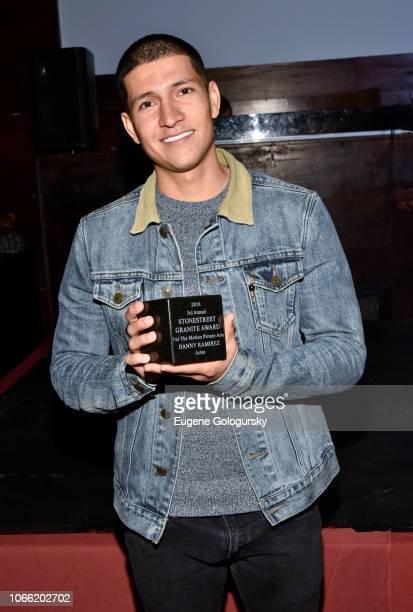 Stonestreet Granite Award Recpient Danny Ramirez attends the 2018 Stonestreet Granite Award event at Taj on November 28, 2018 in New York City.