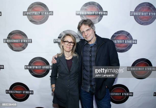 Stonestreet Studios founders Alyssa Rallo Bennett and Gary O Bennett attend the celebration of Rachel Brosnahan the recipient of the 2017 Stonestreet...