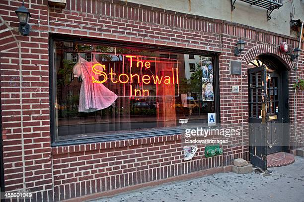 stonewall inn - stonewall inn stock photos and pictures