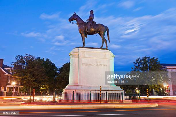 Stonewall Jackson Monument In Richmond, Virginia
