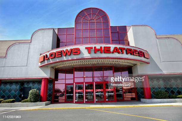 The AMC Loews Stony Brook 17 movie theater located at a shopping center on Nesconset Highway in Stony Brook New York on April 4 2019