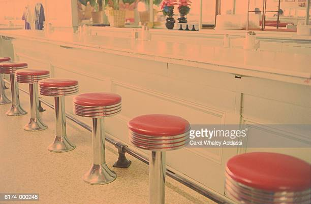 Stools at Bar Counter