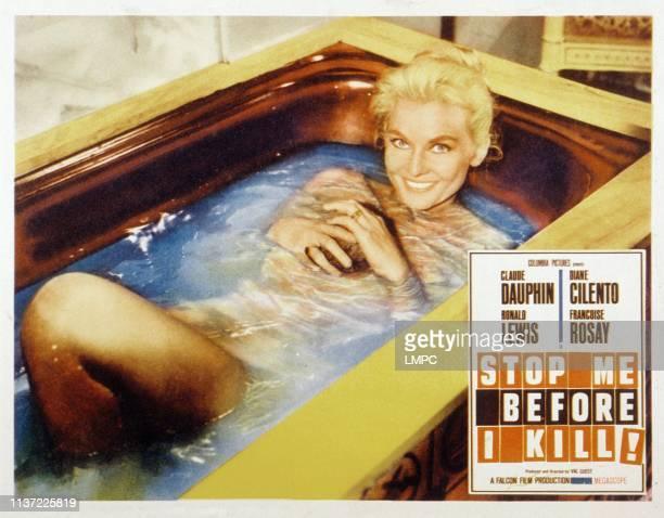 Stop Me Before I Kill lobbycard Diane Cilento 1960