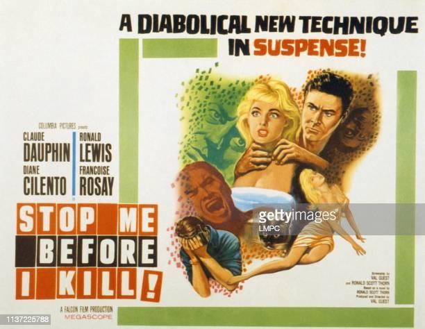 Stop Me Before I Kill lobbycard Diane Cilento Ronald Lewis 1960