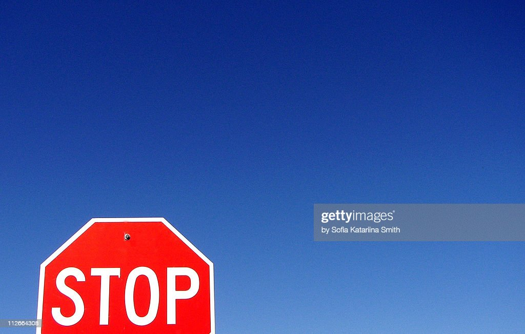 Stop : Stock Photo