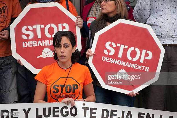 stop (停止) - 占拠デモ ストックフォトと画像