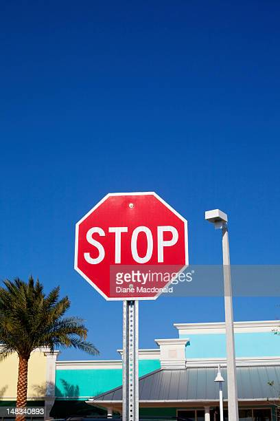A stop sign in Florida