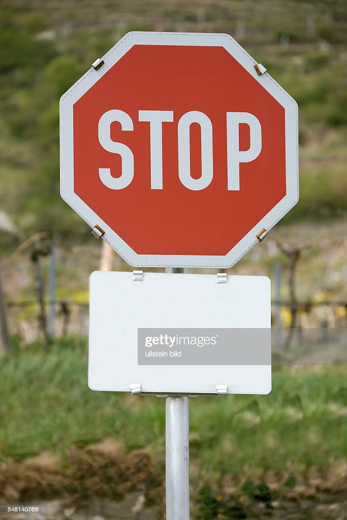 stop sign, stop with blank sign News Photo - Getty Images
