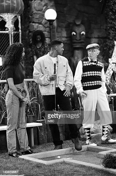 AIR Stop Will In the Name of Love Episode 18 Pictured Amy Hunter as Samatha Will Smith as William 'Will' Smith Thomas Bellin as Rude Old Guy Photo by...