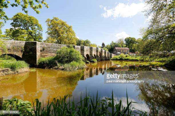 stopham bridge, river arun, near pulborough, west sussex - west sussex stock pictures, royalty-free photos & images