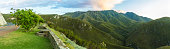Stopover viewpoint at the Outeniqua Pass in South Africa