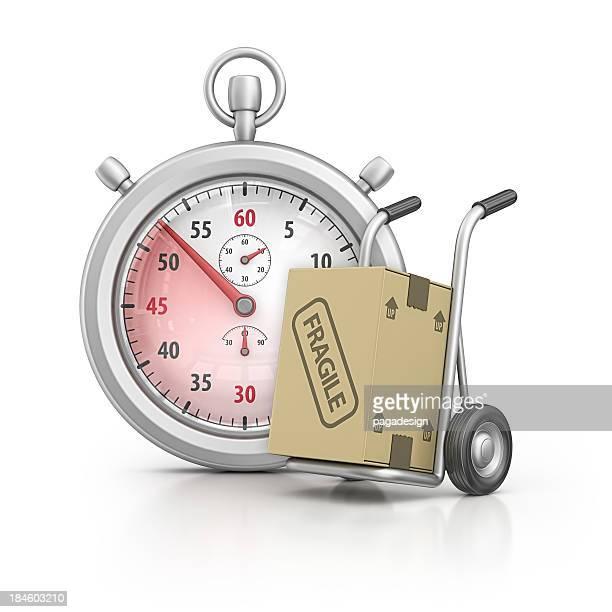 stopwatch (ストップウォッチ)、台車