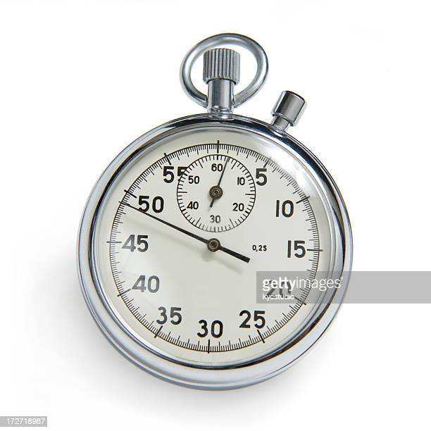 Stopwatch with clipping path