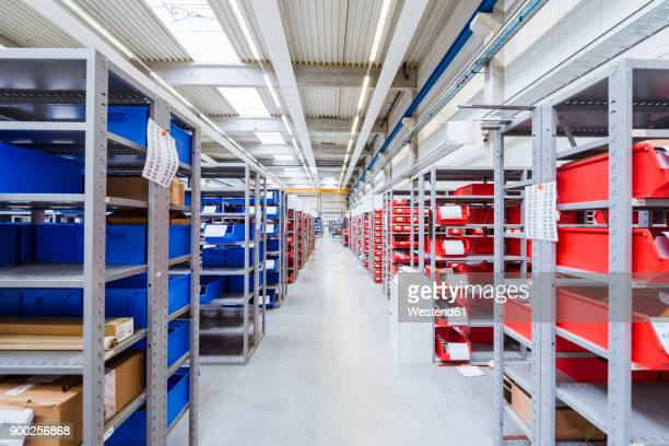Storage room in factory