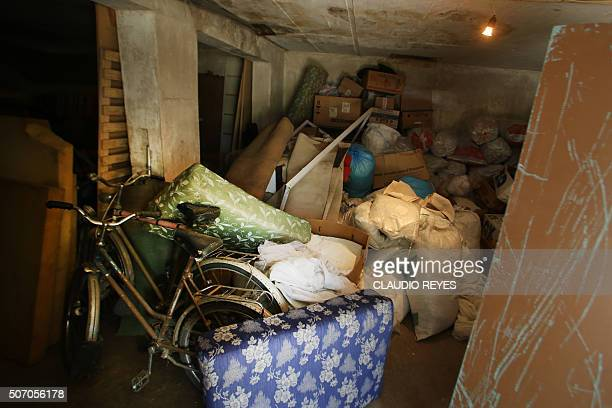 A storage room in Villa Baviera or Bavaria Village formerly known as Colonia Dignidad near Parral on January 7 around 400 kilometers south of the...
